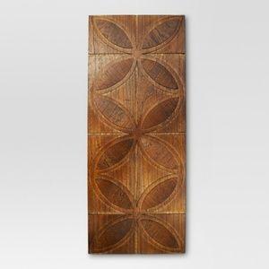 "Mid-Century Pieced Wood 30x12"" - Threshold™"